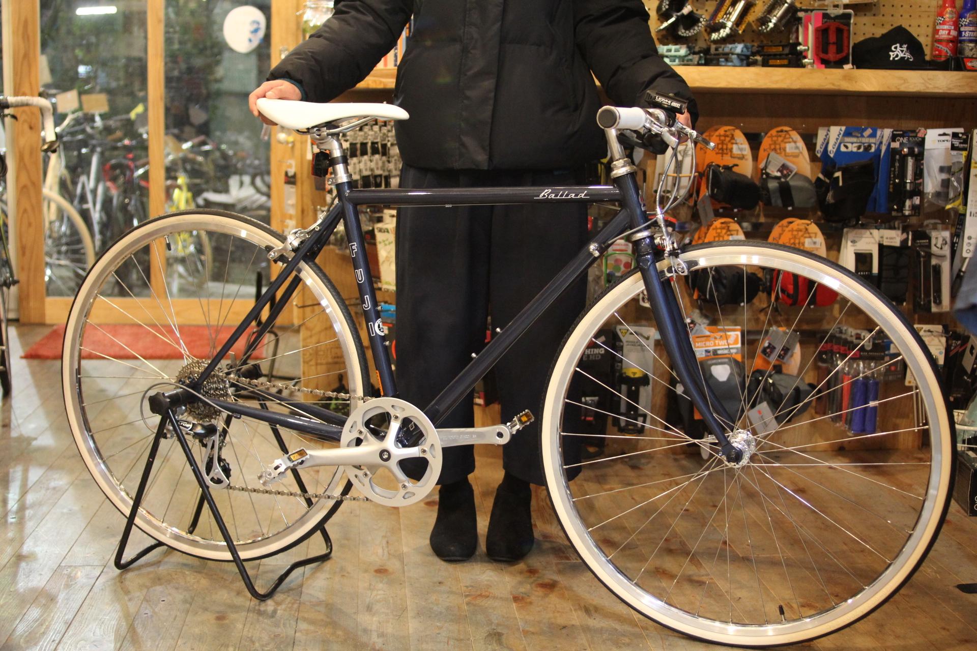 FUJI『Ballad』街乗りにおすすめ、クラシカルなタウンバイク