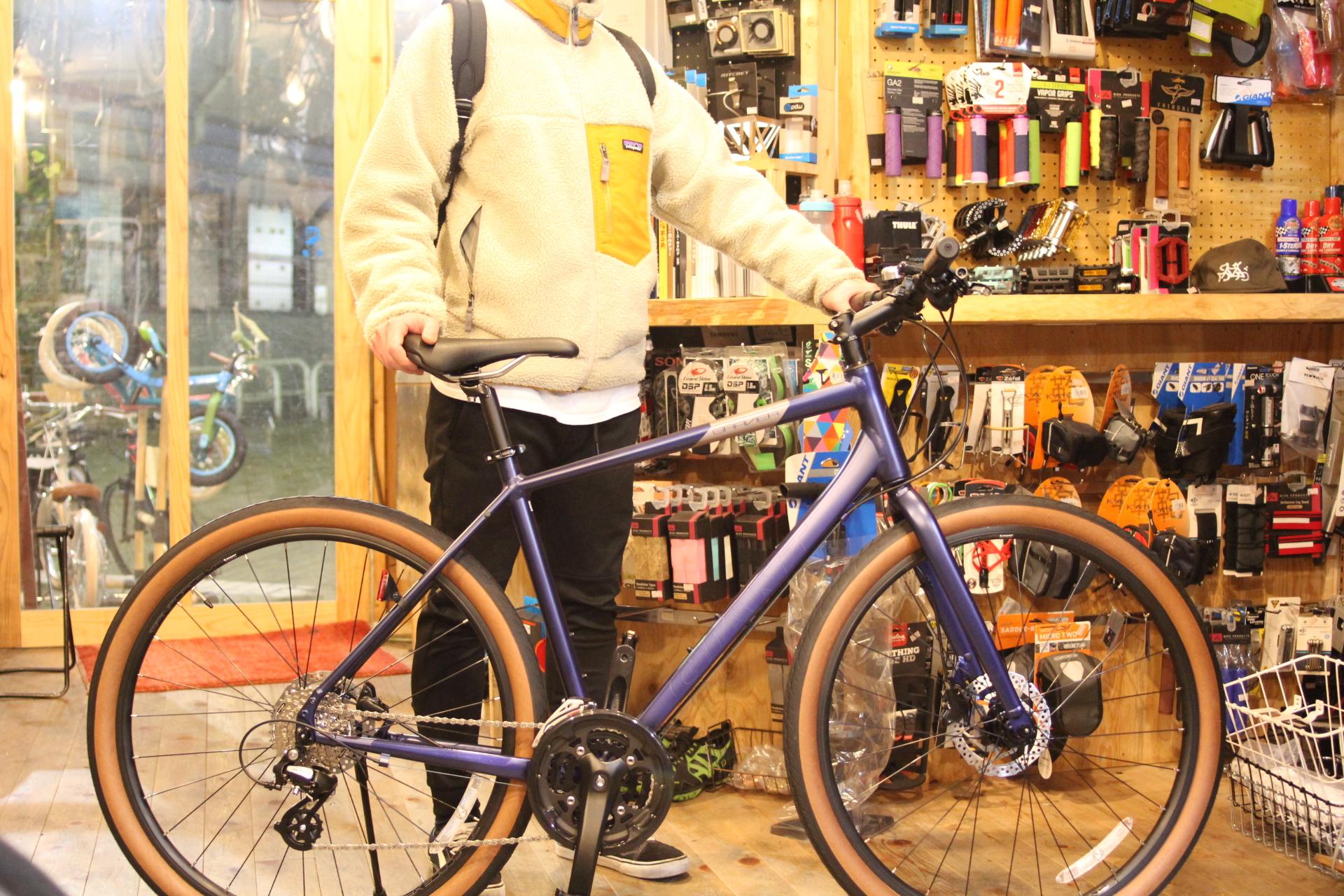GIANT『GRAVIER DISC』何にでも使えそうなコスパに優れたバイク