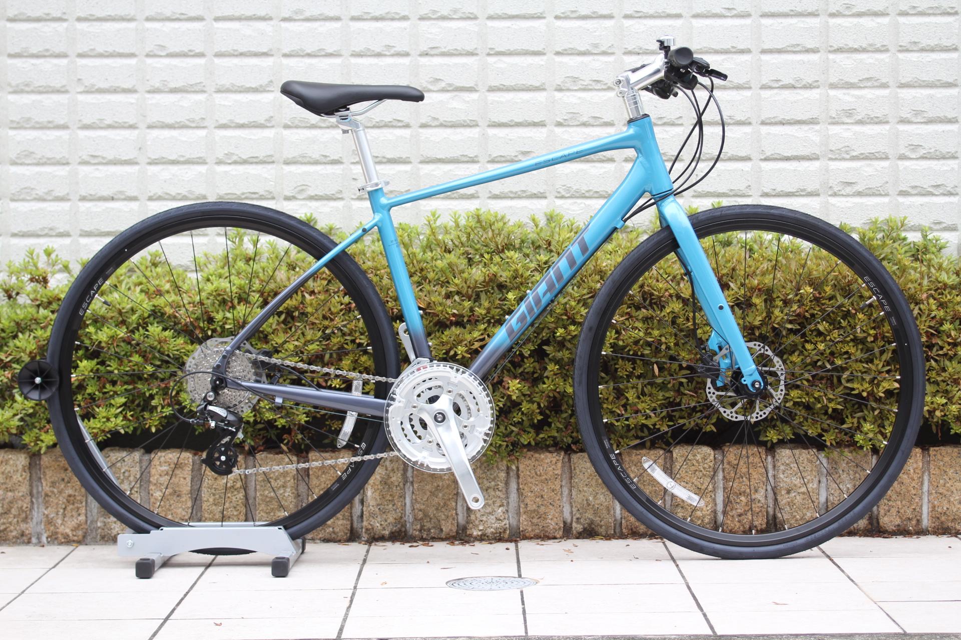 GIANT『Escape R3 disc』雨の日にも自転車に乗るという方にはおすすめの油圧ディスクブレーキモデル