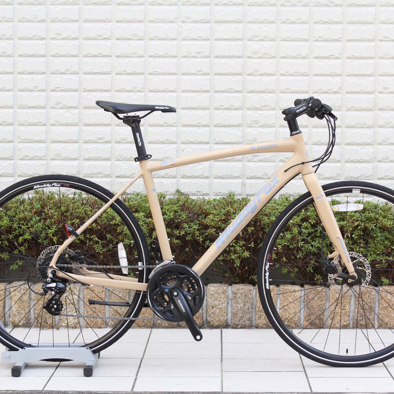 ARAYA『MFX』コストパフォーマンスに優れた油圧ブレーキ採用のクロスバイク