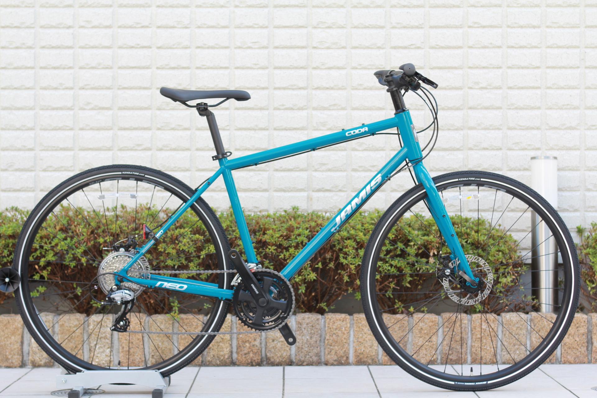 JAMIS『CODA NEO』ダボ穴たくさんのクロモリフレームのクロスバイク