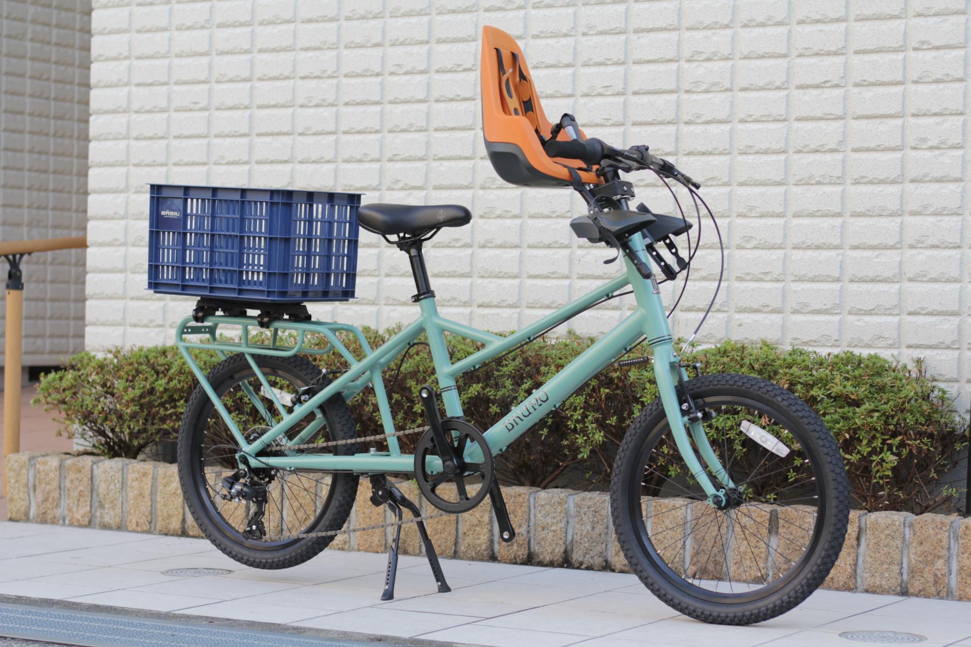 BRUNO『MINIVELO TOOL』チャイルドシートや荷物カゴをカスタムできます!