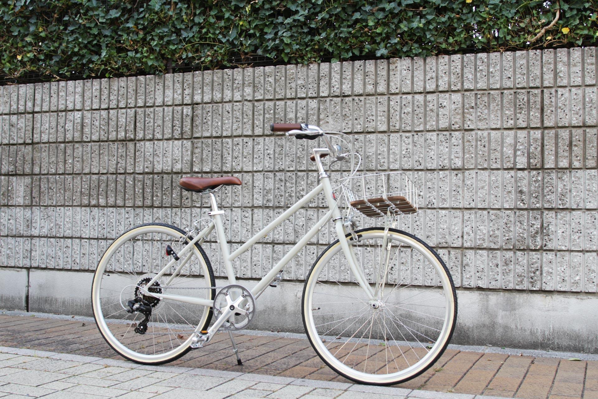 tokyobike『BISOU 26』にオシャレカゴをカスタム