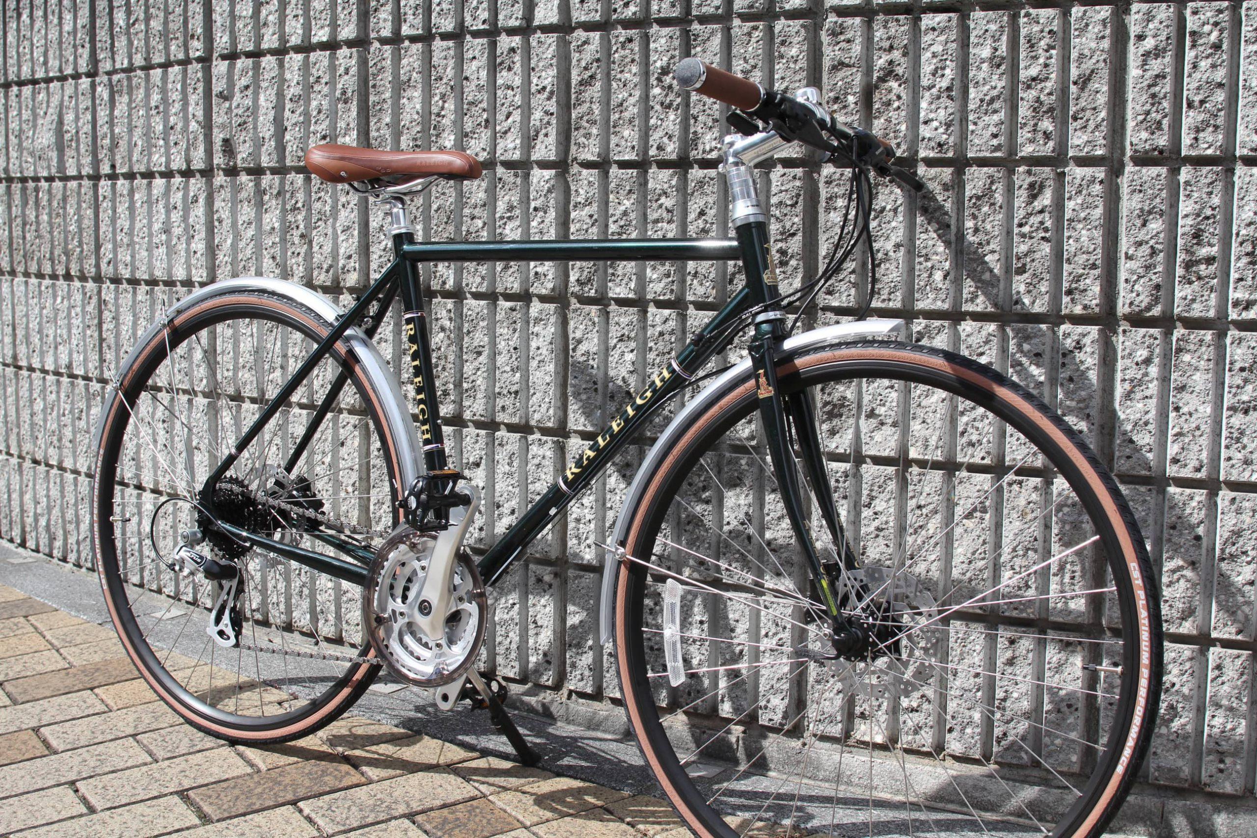 RALEIGH『RFT』モダンクラシックなクロモリのクロスバイク