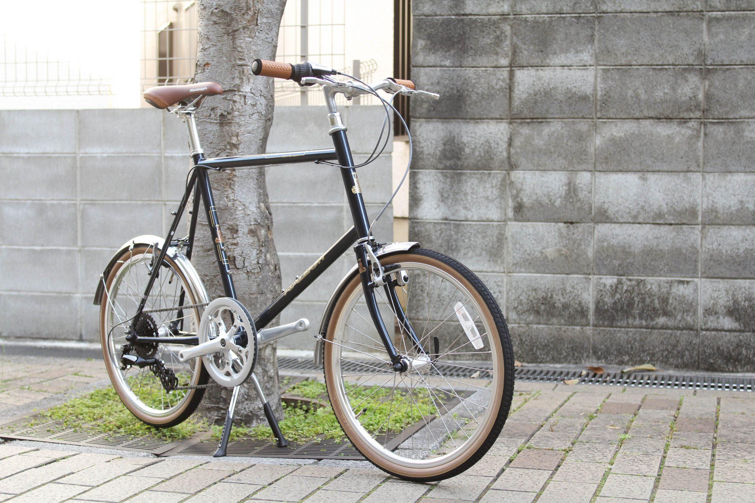 RALEIGH『RSS』美しいクロモリミニベロバイク