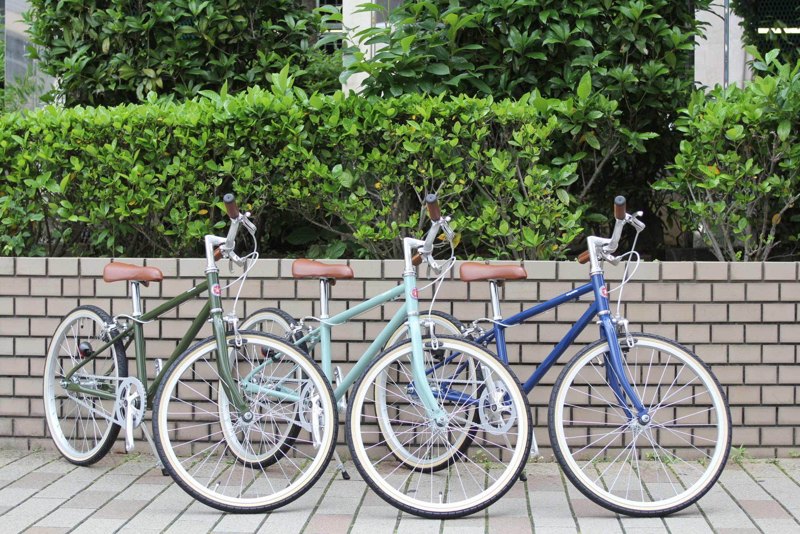 TOKYOBIKE『Jr. Comfy/Jr. Step(stepは完売)』入荷and当店でご購入された子供用自転車の引き取り開始。